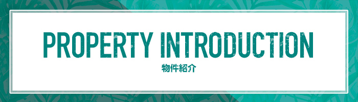 Property introduction 物件紹介